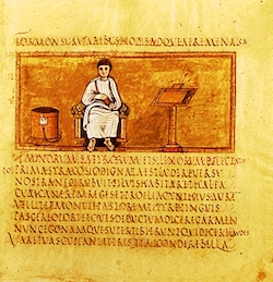 Latin teaching image