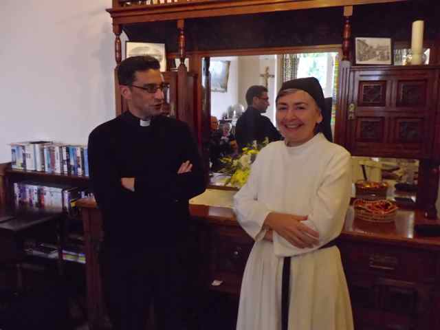 Fr Luiz and Sr Margaret