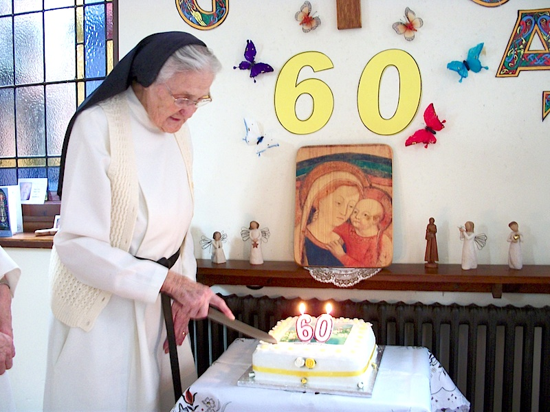 Sister Mary Benedict's Diamond Jubilee