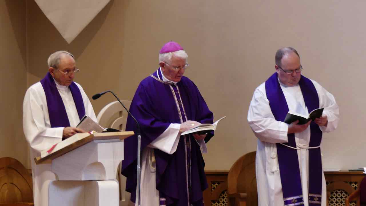 Bishop Michael at Boarbank in Advent