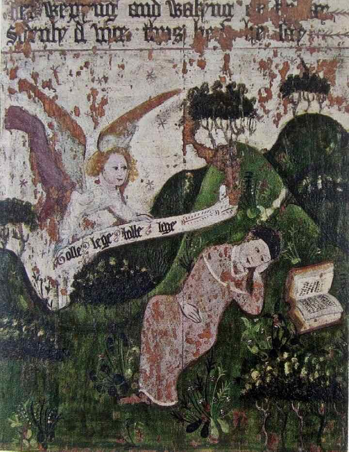 The Conversion of St Augustine, Carlisle Cathedral, c. 1490