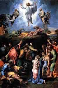 Raphael The Transfiguration