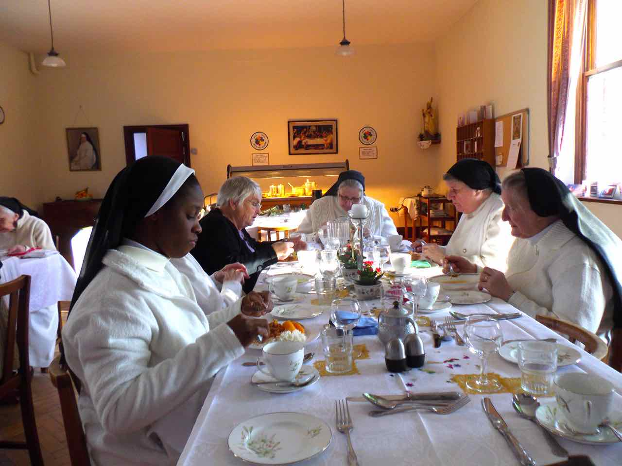 Visit of Sr Eugenia