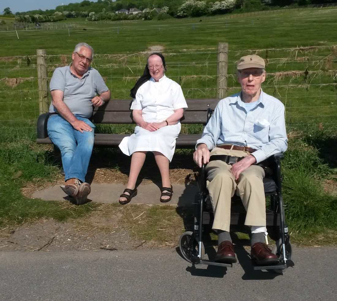 Minibus Trip With Patients Bolton le Sands