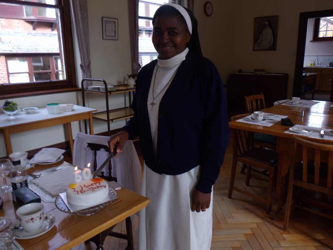 Visit of Sr Christiana OSA from Nigeria