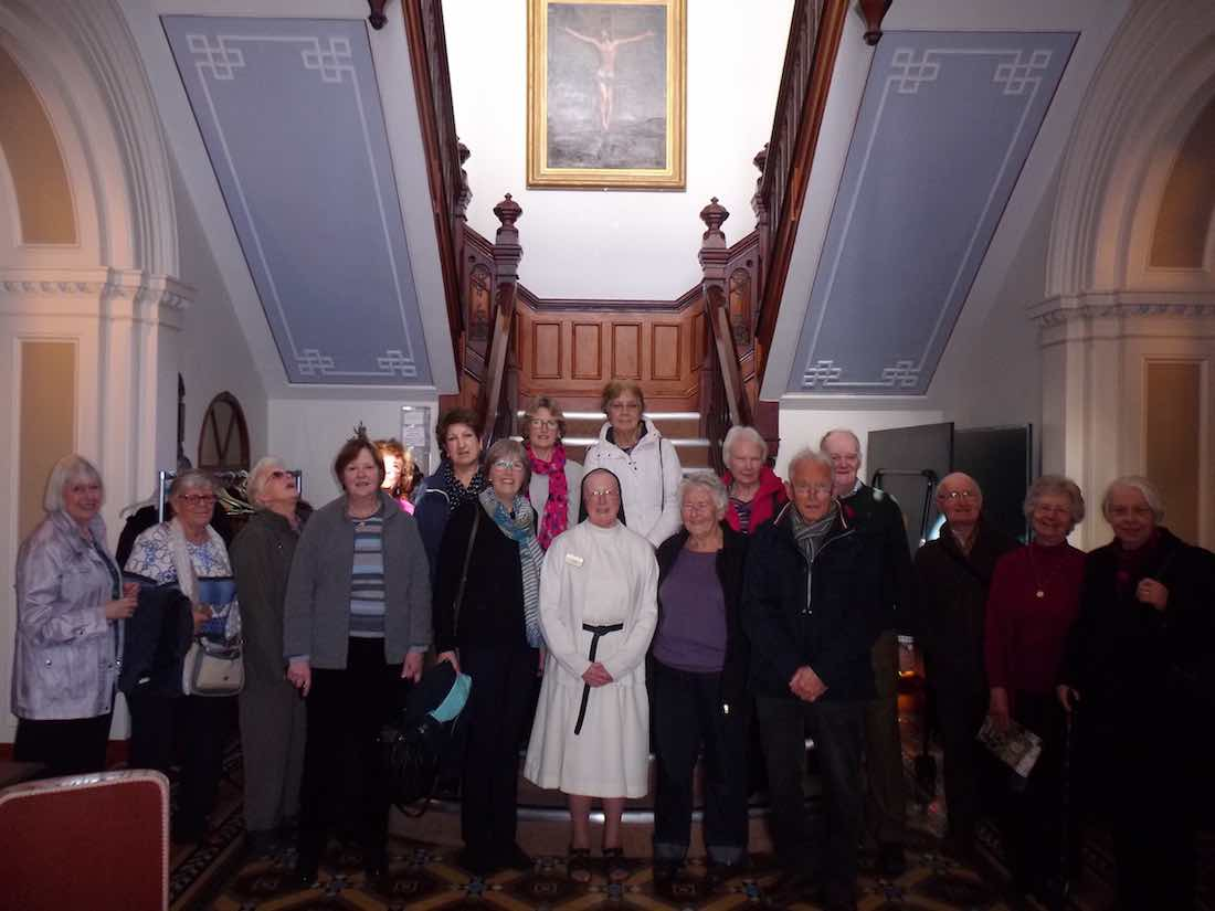 Visit U3A Talk & Tour with Sr Michael